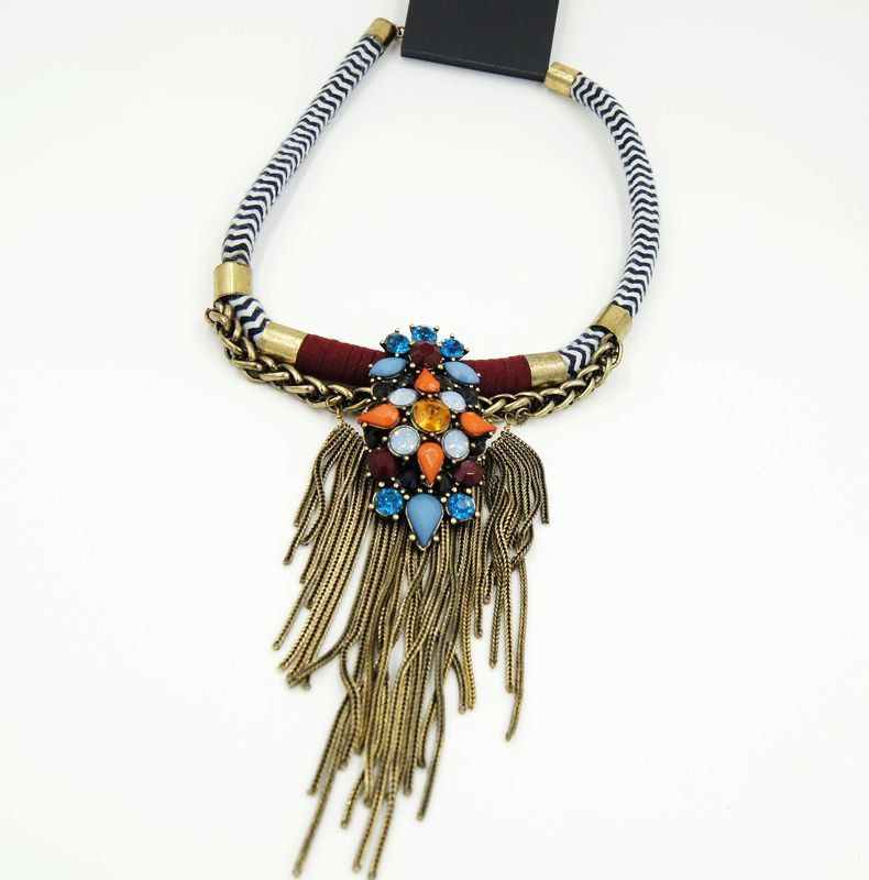 fashion trend tassel necklaces for women holiday birthday gifts idea