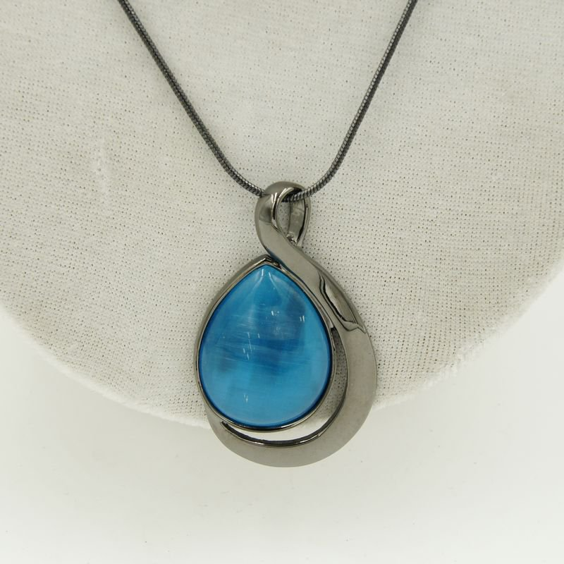 fashion jewelry  necklaces Opal pendants  for women gifts idea C22-41