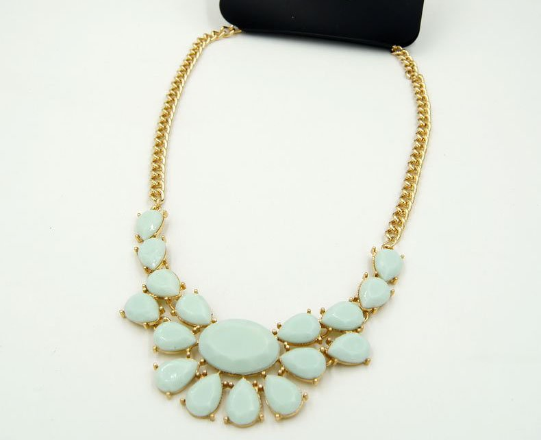 new fashion easy matching clothing necklaces for women