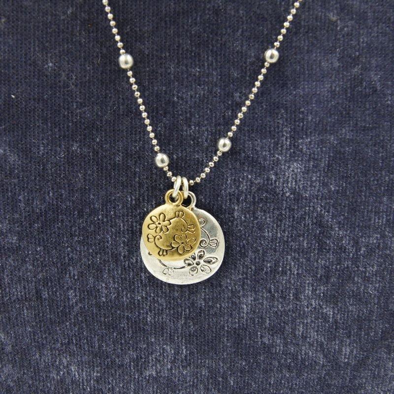 chain necklaces flower pendants for women C22-101
