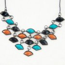 charm colorful flower pendants necklaces for women gifts  kXL-821
