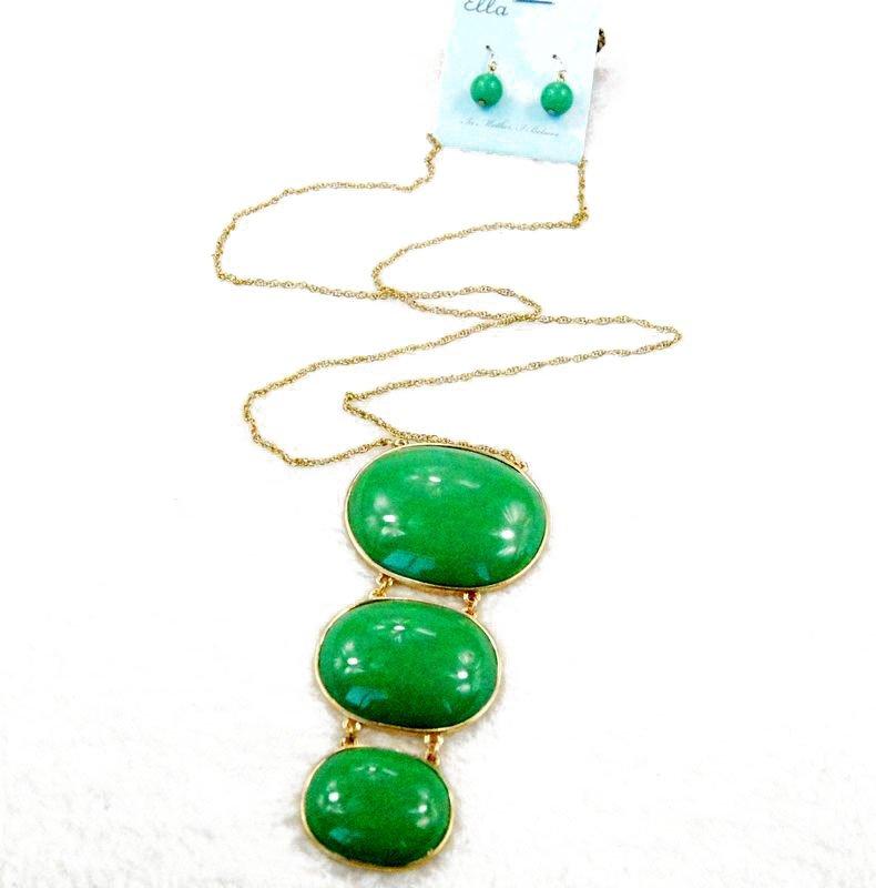 unqiue necklaces earring set for women kC4-A109