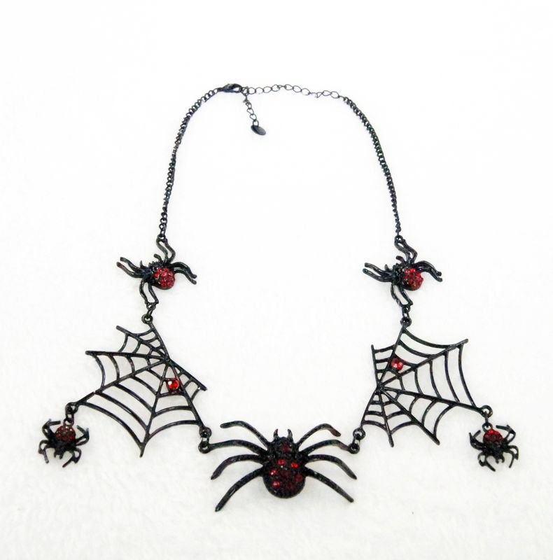 fashion jewelry Spider pendants unique necklaces for women Personalized gifts kC18-833