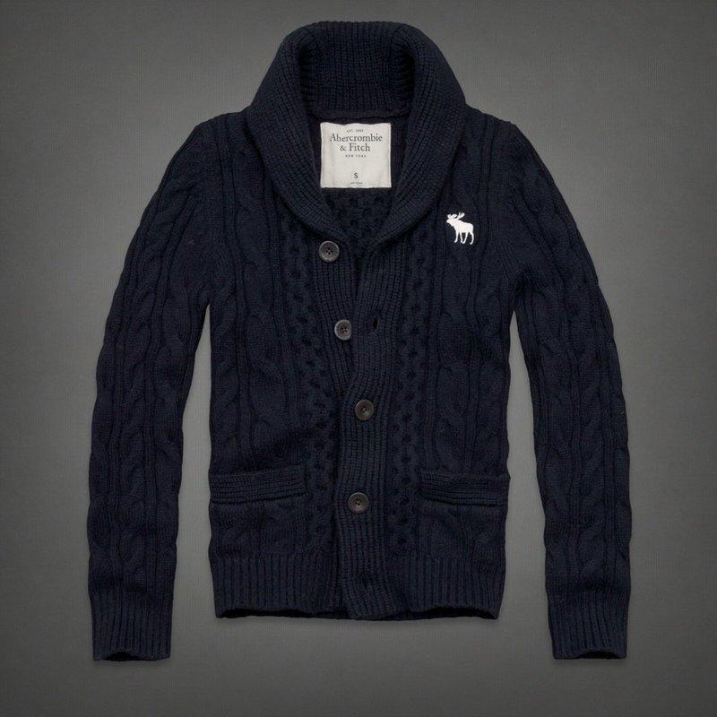 Free shipping For Mens shawl collar cardigan my-15