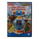 Fisher Price Team Geotrax All Aboard DVD Two Animated Episodes