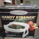Handy Strainer Folding with Handles by Gourmet Trends