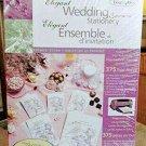 Wedding Stationery Ensemble 375 Pieces Elegant Promises Design