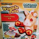Wuggle Pets Playful Pony Kit Build Em with Love and Care