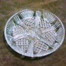 "Crystal Bormioli Rocco Selecta 7.5"" Divided Serving Plate"