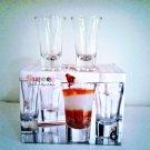 Sweet Dessert Glass Tasters 6 Piece Set 2 Oz from Home Essentials