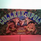 Collegeopoly A Game About Your Crazy College Life Character Trading Game