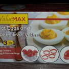 ValueMax Silicone Egg Cookers 3 n 1 for Eggs & Pancakes