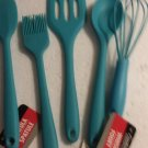 Mini Gadgets Kitchen Utensils Lot of 5 Red by Cooking Concepts