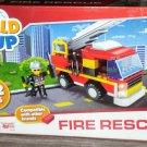Build Me Up Fire Rescue 284 Piece Blocks Set
