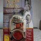 Night Duty Keyhole Light Sound Activated
