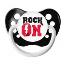 Rock On Pacifier - 6+ months - Ulubulu - Black - Unisex - Lightening Bolt Binky