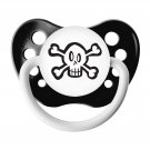 Skull Pacifier - Ulubulu - 6+ months - Black - Unisex - Skull and Crossbones Binky