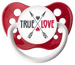 True Love Pacifier - 6-18 months - Ulubulu - Red - Unisex
