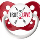 True Love Pacifier - 6-18 months - Ulubulu - Red - Unisex