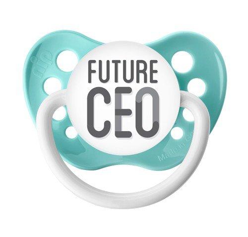 Future CEO Pacifier - Ulubulu - Seafoam Green - 0-6 months