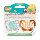 Greek Key Pacifier and Houndstooth Pacifier Set - 0-6 months - Unisex - Ulubulu