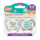 Photogenic Pacifier and Almost Famous Pacifier Set - Unisex - 6+ months - Ulubulu - 2 Binkys