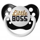 Little Boss Pacifier - 6+ months - Ulubulu - Black - Unisex - Future CEO