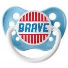 Brave Pacifier - 0-6 months - Ulubulu - Boys - Light Blue Binky