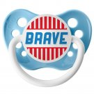 Brave Pacifier - 6+ months - Ulubulu - Boys - Light Blue Binky