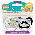 Momma's Boy Pacifier and Mustache Pacifier Set - 0-6 months - Boys - Ulubulu