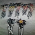Mini WINDCHIMES Choose From Bird Dragonfly Frog Bee Ladybug Sun WIND CHIME