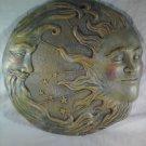 CELESTIAL WALL PLAQUE Or Garden Decor Stepping Stone Sun Moon Stars (#32269)