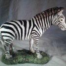 ZEBRA Figurine SAFARI Animal Decor Horse (#37500)