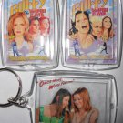 BUFFY THE VAMPIRE SLAYER Key Chains ONCE MORE WITH FEELING Willow & Tara