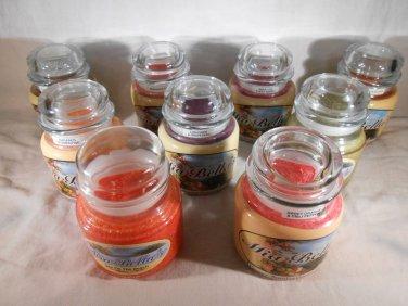 SCENTED Jar CANDLES Clove Tea Coffee Sweet Orange Chili Pepper Mia Bella's