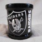OAKLAND RAIDERS Candle NFL Football VANILLA Scented Ceramic Jar (#37315)