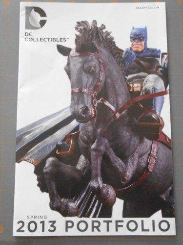 DC COMICS Collectibles Spring Portfolio BATMAN Comic 2013 WONDERCON Superman