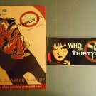 THE THIRTY SIX White Zapata COMIC Promo Card Sticker WONDERCON 2013 SDCC