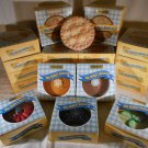 Mia Bella BAKERY CANDLE PIES Apple Lime Cherry Strawberry Blueberry Choc Pumpkin