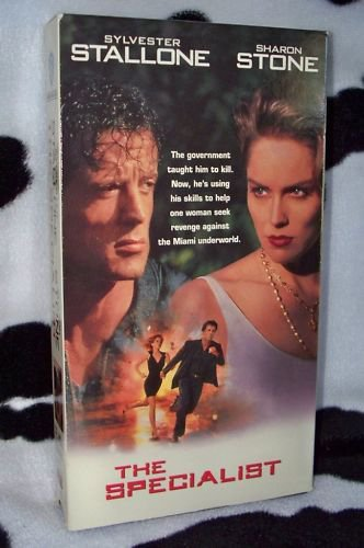 THE SPECIALIST Sylvester Stallone Sharon Stone VHS