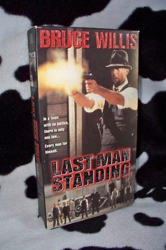 LAST MAN STANDING Bruce Willis VHS MOVIE