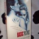 BASIC INSTINCT Micheal Douglas Sharon Stone VHS MOVIE
