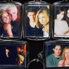 BUFFY THE VAMPIRE SLAYER Key Chains Xaner Anya Willow Tara Angel Spike SMG