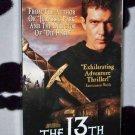 THE 13TH WARRIOR Antonio Banderas VHS MOVIE