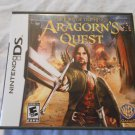 LORD OF THE RINGS: Aragorn's Quest NINTENDO DS, 2010 NDS