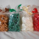 CHRISTMAS Shapes Scented WAX MELTS Home Fragrance Chips CANDLES (#35751)