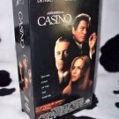 CASINO Pesci, De Niro, Stone VHS MOVIE 2 Tape Set