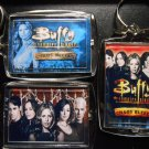 BUFFY THE VAMPIRE SLAYER Key Chains CHAOS BLEEDS Xander Spike Willow Tara Giles