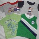 BOYS 4 Piece Lot Short Sleeve SHIRTS Tank Top 12 Months 12M Kids Clothes SPORTS