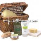 AVOCADO OLIVE OIL & LEMON Spa Gift Basket. Bath & Body HEALING SPA (#12565)